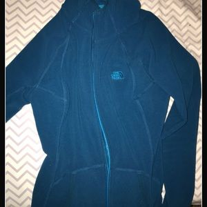 HOODED polyester north face spring jacket
